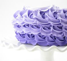 Ombre Rosette Cakes have been the rage for years now serving as creative decor for Birthday Parties, Weddings, Bakeries, etc. For your