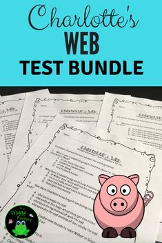 This is a Charlotte's Web test bundle of vocabulary and comprehension tests in multiple-choice format. It includes 4 tests. The vocabulary and comprehension tests can be separated into 2 different tests. This book is great for shared reading, guided readi Reading Resources, Reading Strategies, Teaching Reading, Guided Reading, Reading Comprehension, Book Activities, Dyslexia Strategies, Reading Themes, Reading Groups