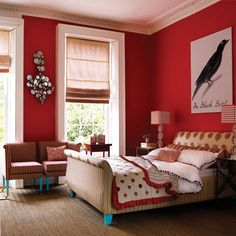 15 Best Color Combos to Spice Up Your Bedroom Decor – Handy DIY – Modern Home Office Design Office Color Schemes, Interior Design Color Schemes, Modern Color Schemes, Bedroom Color Schemes, Bedroom Colors, Bedroom Decor, Bedroom Bed, Good Color Combinations, Color Combos