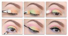 Lime Crime Palette D'antoinette pressed eyeshadow makeup