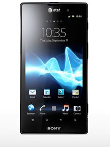 The Xperia Ion. Strengths include: camera, display & being awesome.