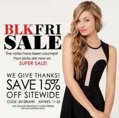 Shop Black Friday sales!