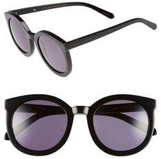 KAREN WALKER 'Super Duper Strength' 55mm Retro Sunglasses #sunglasses #womens #summer