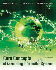 Solution manual for Core Concepts of Accounting Information Systems 12th Edition by Mark G. Simkin INSTRUCTOR SOLUTION MANUAL VERSION  http://solutionmanualonline.com/product/solution-manual-core-concepts-accounting-information-systems-12th-edition-mark-g-simkin-instructor-solution-manual-version/