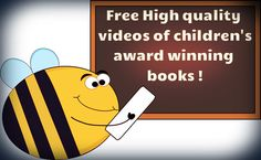 Free high quality videos of children's award winning books! Graphics from www.mycutegraphics.com