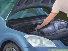 Whether it's because you left the lights on, the key in the ignition, or your battery is old, you will most likely deal with a dead car battery at some point. Fortunately, if there is another car nearby, it's a quick fix! #JumpStart #CarHelp #CarTips #AutoInsurance