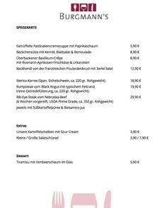 Unsere Speisekarte für diese Woche. Natürlich nur solange der Vorrat reicht... #burgmanns #restaurant  #bistro #weilheim #weilheimteck #esslingen #stuttgart #kirchheim #kirchheimteck #göppingen #lecker #fleisch #fisch #veggie #steaks #bio #regional #saisonal #familienbetrieb #aufdiehand #aufdenteller #weilheimlebt #food #instafood #foodporn #stimmungsbild #bismorgen #live #homemade
