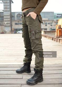 Mujeres militar de carga exterior pantalones pantalones montañismo ejército verde camuflaje Camping escalada pantalones en Pantalones y Capris de Moda y Complementos Mujer en AliExpress.com | Alibaba Group