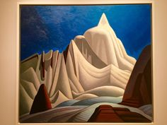 Lawren Harris was one of Canada's greatest painters, known best for his bold and spiritually evocative paintings of the northern Canadian landscape. English Artists, Canadian Artists, Georgia O Keeffe Paintings, Vancouver Art Gallery, Painting Snow, Painting Abstract, Southwestern Art, Royal Academy Of Arts, Mountain Paintings