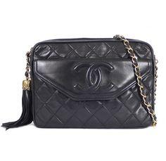 b32bdfd6e9e3 38 Best Vintage Bags images | Vintage chanel, Tassels, Chanel black