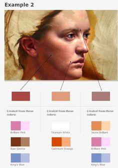 Tonal progression - colour 2