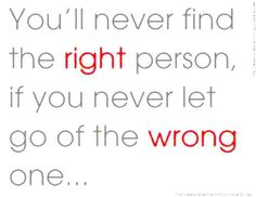 finding the right person