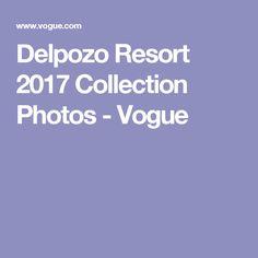 Delpozo Resort 2017 Collection Photos - Vogue