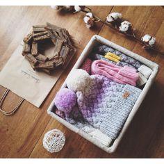 Cozy box from Svetlana Selivanova http://instagram.com/svetlanaselivanova