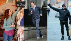 Οι celebrities κάνουν ό,τι κι εμείς: Πηγαίνουν για ψώνια, κάνουν jogging και περιμένουν στο δρόμο για ταξί!
