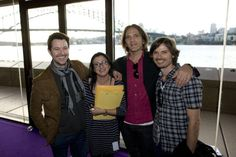 With part of Powderfinger - 2010 ARIA No. 1 Chart Awards