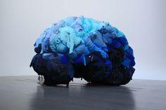 Chinese Contemporary Art, Chinese Art, Modern Art, Tin Foil Art, Peking, Brain Art, Museum, A Level Art, Abstract Sculpture