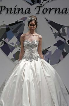 If I wore a ballgown, this would be it. Too bad it's so expensive... Pnina Tornai - Sweetheart Ball Gown in Satin