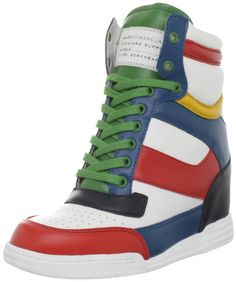 Marc by Marc Jacobs Women's 625536/12 High Top Sneaker