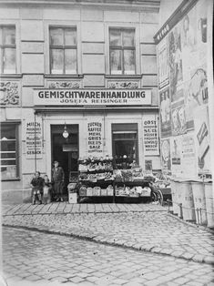 Vintage Vienna Street Photo, Vienna, Special Events, Street View, Pictures, Photos, History, Rats, Vintage