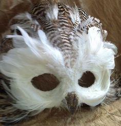 Snow Owl  Specialty Custom Animal Masks by MaskedEnchantment