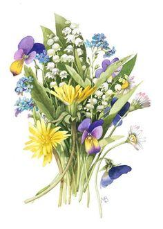 Spring nosegay by Marjolein Bastin