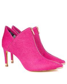 MILLAE | Exotic boot - Neon Pink | Footwear | Ted Baker