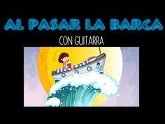 Como tocar AL PASAR LA BARCA en guitarra