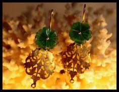 fox jade earrings