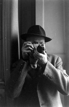 Henri Cartier Bresson by Dmitri Kessel.