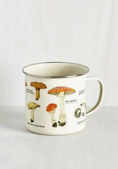 Mushrooms Toadstool for School Mug by ModCloth
