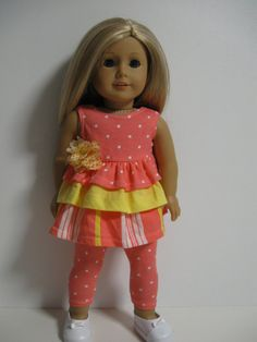American Girl Doll Clothes Peachy by 123MULBERRYSTREET on Etsy