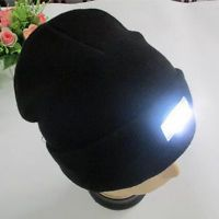 716c7c0bffc Outdoor 5 LED Light Cap Beanie Unisex Hat For Hunting Camping Running  Fishing