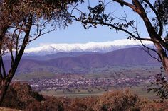 Corryong, Country Victoria (Australia) - Snowy Mountains view
