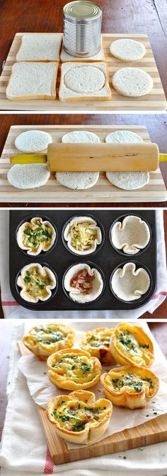Broodhapje in vormpje Healthy Snacks, Healthy Recipes, Masterchef, Snacks Für Party, Food Design, Diy Food, Finger Foods, Food Inspiration, Love Food