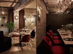 We have reinterpreted the space by adding urban and cool modern sensibilities reflecting the characteristics of a classic style and streets with dense fashion brands that fit in the concept of the French bistro.