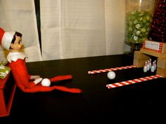 Elf on the Shelf: Bowling