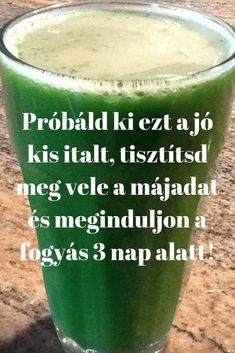 Próbáld ki ezt a jó kis italt, hogy tisztítsd meg vele a májadat és meginduljon a fogyás mindössze 3 nap alatt! - Szupertanácsok Serving Table, Smothie, Weight Loss Smoothies, Nutribullet, Nutrition, Home Remedies, Mint, Keto, Paleo