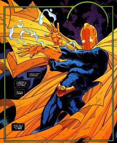Kent V. Nelson came into possession of the Helm of Nabu, succeeding Hector Hall as the new Dr. He is the grand-nephew of the original Doctor Fate, Kent Nelson. Marvel Dc, Marvel Comics, Superhero Groups, Dr Fate, Comic Art, Comic Books, Justice Society Of America, Dc World, Justice League Dark