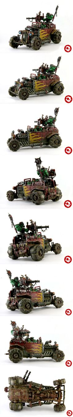 Space Ork Buggy Scratch Built - Evil Sunz