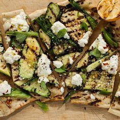 Grilled Vegetable Recipes, Vegetarian Salad Recipes, Grilled Vegetables, Grilling Recipes, Cooking Recipes, Healthy Recipes, Healthy Meats, Vegetarian Grilling, Grilling Ideas