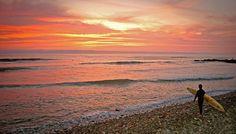 sunset punta roquitas