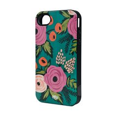 Buy Rifle Paper Co - iPhone 5 Inlay Case - Spanish Rose - NoteMaker Stationery Coque Iphone, Iphone 4s, Iphone Cases, Rifle Paper Company, Pink Olive, Ipad, Best Phone, 5s Cases, Papers Co