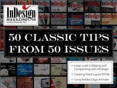 10 Essential Tips for InDesign from InDesign Magazine Tips