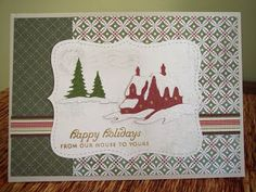 Monkeydreamz: Tales of a Paper Addict: The 12 Days of Christmas Cards-Day Twelve