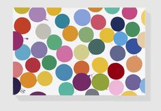 English Lilac Household gloss on canvas 406 x 610 mm © Damien Hirst and Science Ltd. All rights reserved, DACS 2017 Photographed by Prudence Cuming Associates Ltd Space Painting, Dot Painting, Damien Hirst Paintings, Houghton Hall, Gagosian Gallery, British Home, New Words, Photo Galleries, Sculptures