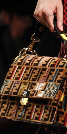 2017 My Favorite Fendi Handbags, ultimate guide to the hottest fashion handbags style inspiration from around the world. Hermes Handbags, Handbags Michael Kors, Fashion Handbags, Fashion Bags, Designer Handbags, Designer Bags, Fendi Bags, Luxury Handbags, Fashion Fashion