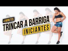 Exercícios para Perder Barriga para Iniciantes 4 min | Barriga de Sonho - Raquel Quartiero - YouTube