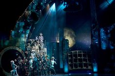 Cats. The Paramount Theater. Scenic design by Kevin Depinet.