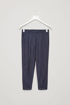 COS | Relaxed pleated trousers